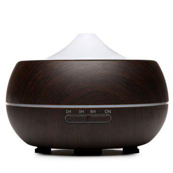 Electric Air Freshener Ultrasonic Aromatherapy Diffuser 300ml - BROWN BROWN