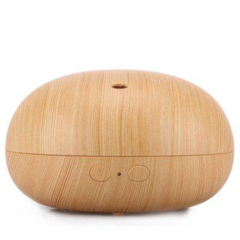 400ml Ultrasonic Portable Spa Use Air Diffuser Cool Mist Diffusers - WOOD GRAIN UK PLUG