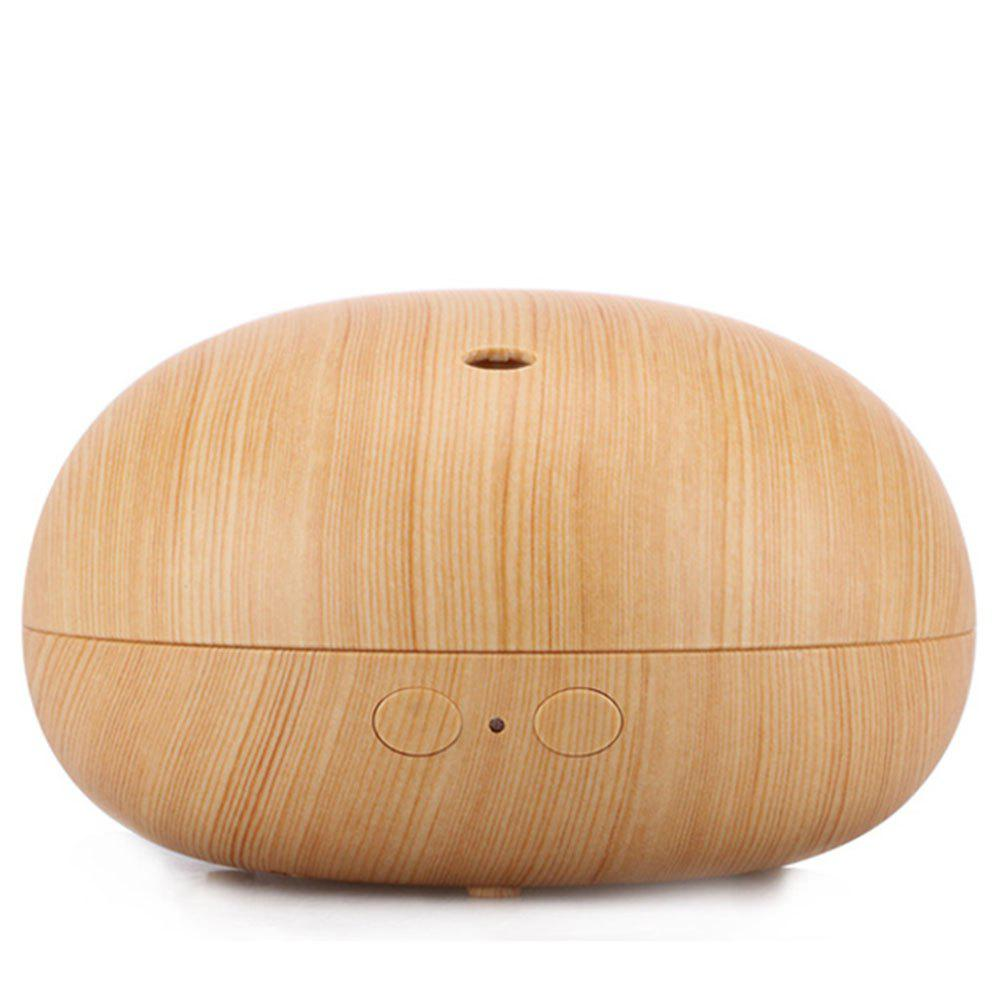 Humidificateur Ultrasonique d'Air aux Brumes Fraîches d'Usage de Spa Portable 400 ml - Grain de bois UK PLUG