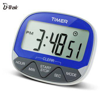 Large Lcd Magnetic Digital Timer with Holder - CORNFLOWER CORNFLOWER