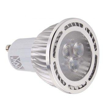 10PCS YWXLight GU10 3W 3-LED Recessed Lighting LED Spotlight AC 85 - 265V - WARM WHITE LIGHT