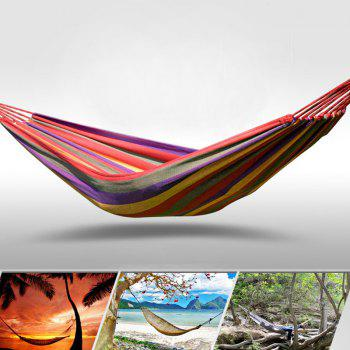 Fengtu Ft0021 Single Outdoor Camping Hammock Outdoor Hammock Men And Women Breathable Canvas Hammock -  BLUE
