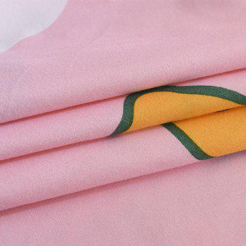 4pcs Fashion Individual Wave Point Chemical Fiber K12.1.8 -  PINK / GREY