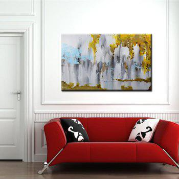 Yhhp Hand Painted Abstract Decoration Canvas Oil Painting