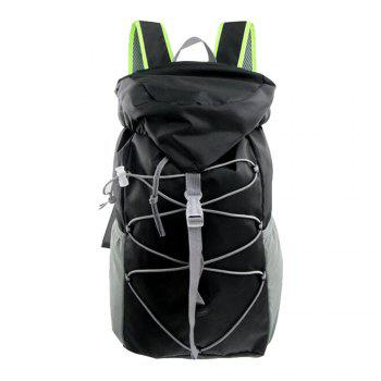Outdoor Sports Riding Mountaineering Backpack and Riding Package - BLACK BLACK