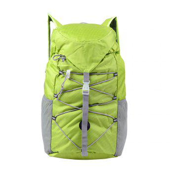 Outdoor Sports Riding Mountaineering Backpack and Riding Package - GREEN GREEN