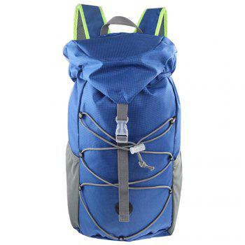 Outdoor Sports Riding Mountaineering Backpack and Riding Package - BLUE BLUE