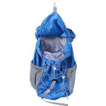 Outdoor Sports Riding Mountaineering Backpack and Riding Package -  BLUE