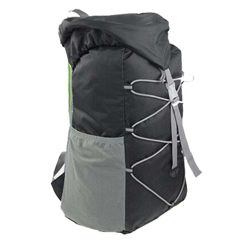 Outdoor Sports Riding Mountaineering Backpack and Riding Package - BLACK