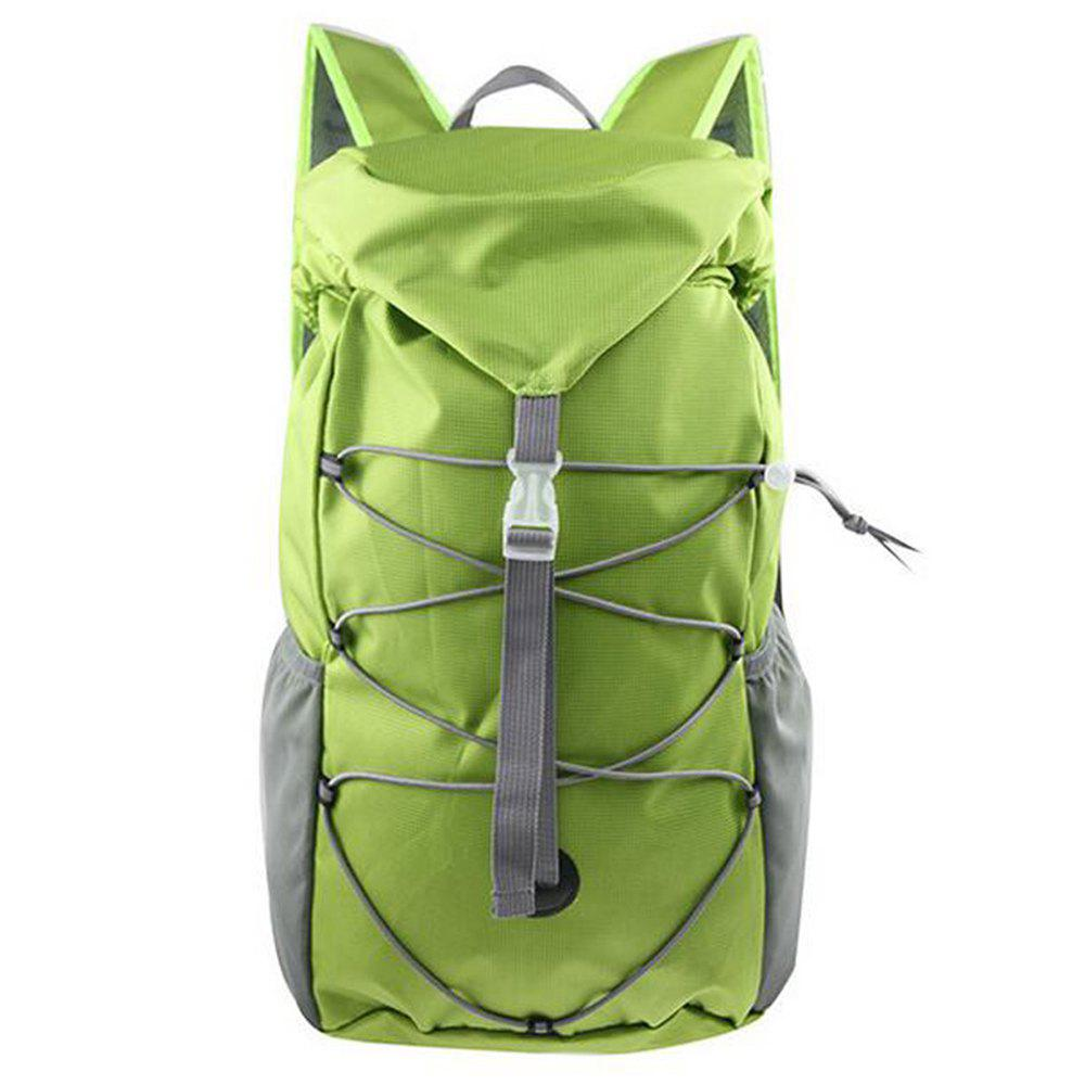 Outdoor Sports Riding Mountaineering Backpack and Riding Package - GREEN