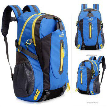 FengTu 40L Hiking Backpacks Soft Pack Climbing Outdoor Bags for Men And Women Sports Bag Camping -  BLUE