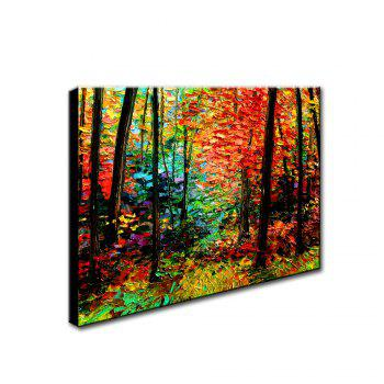 Yhhp Hand Painted Mangrove Decoration Canvas Oil Painting