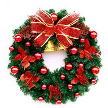 MCYH WL126 Christmas Garland Decorations - FLAME 40CM