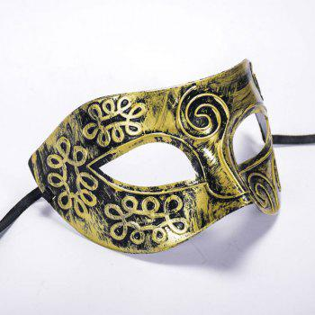 Mcyh Wl147 Mask of Ancient Rome - COPPER COLOR 16*9CM