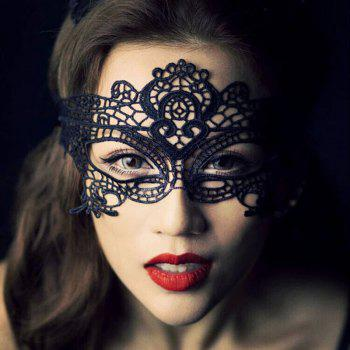 Yeduo Black Sexy Lady Lace Mask pour Masquerade Halloween Party Fancy Dress Costume