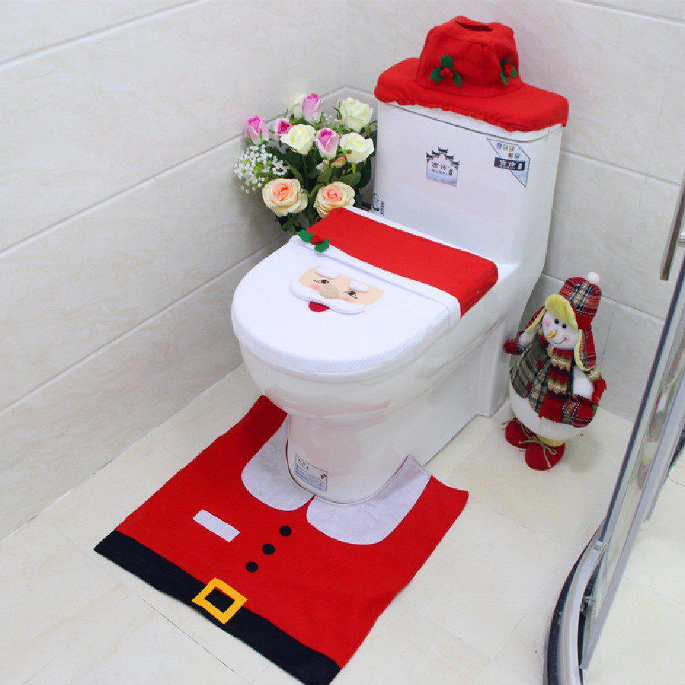 2018 Yeduo New Year Best Gift Happy Christmas Santa Toilet Seat