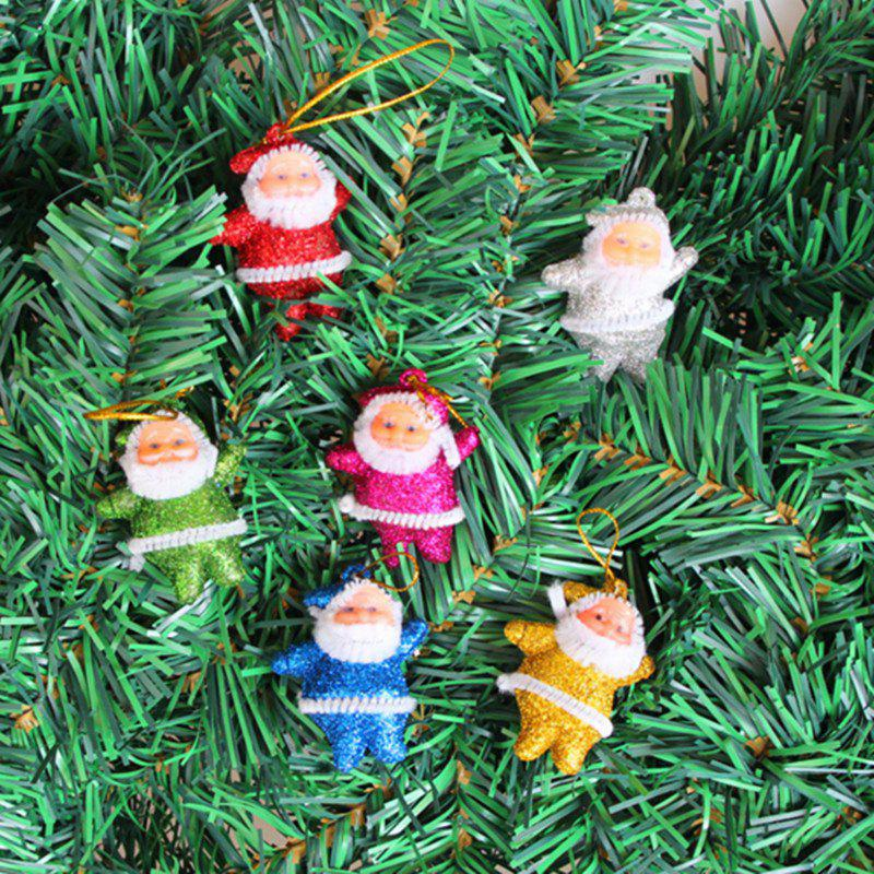 6PCS Christmas Old Man Christmas Trees Accessories - 5CM