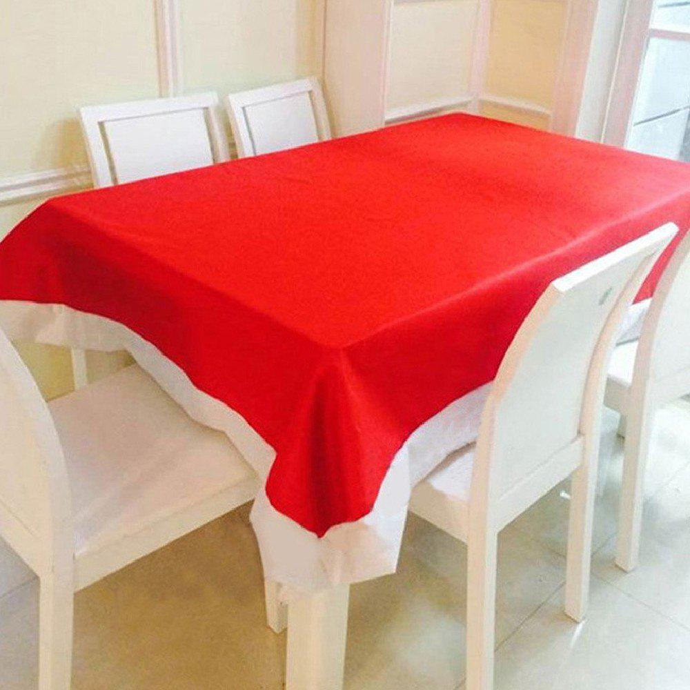 Yeduo Articles de Noël Décorations de Noël Nappes super longues - Rouge