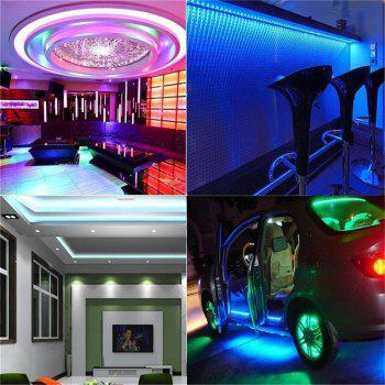 Supli 5M Waterproof Flexible Strip Smd 3528 Rgb 300LEDS with 44KEY Ir Remote Controller And 12V 3A Power Supply - RGB COLOR