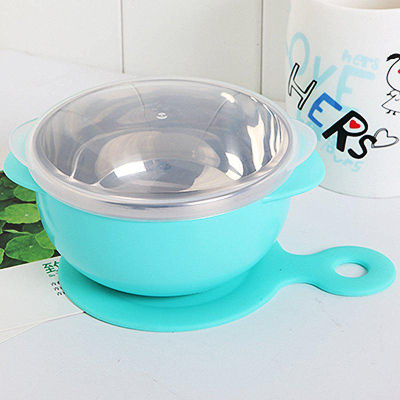 Baby Suction Bowl Soup Can for Children - CORNFLOWER