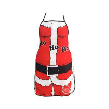 Yeduo Christmas Decoration Santa Claus Apron Whimsy Novelty Gift - COLORMIX