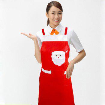 Yeduo Santa Claus Apron Christmas Ornament - COLORMIX
