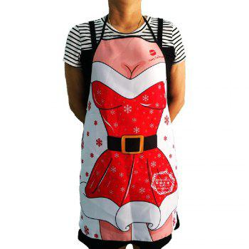 Yeduo Woman Sexy Apron New Year Christmas Decorations -  COLORMIX