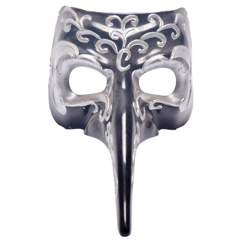 MYCH Wl158 Cool Long Nose Mask - OYSTER