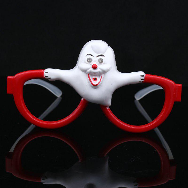MYCH Wl185 Funny Glasses Toys Terrorist Tricky Light - WHITE