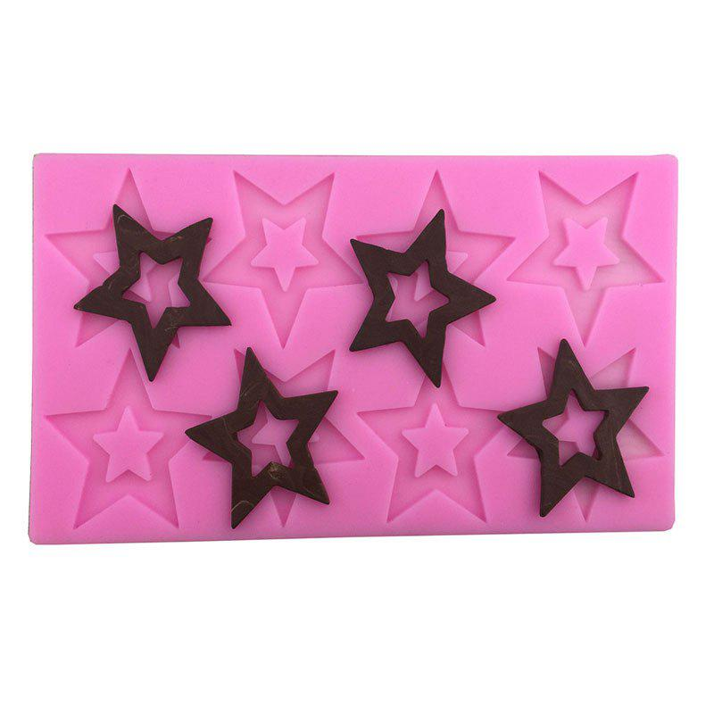 Aya Star Chocolate Cake Molds for Baking - PINK