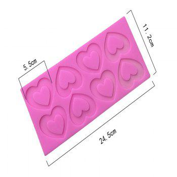 Aya Love Heart Cake Molds for Baking - PINK
