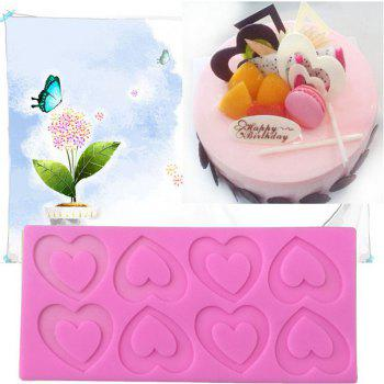 Aya Love Heart Cake Molds for Baking - PINK PINK