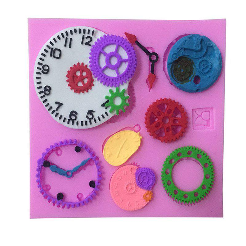 Aya Horloge Watch Gear Cake Molds for Baking - Rose