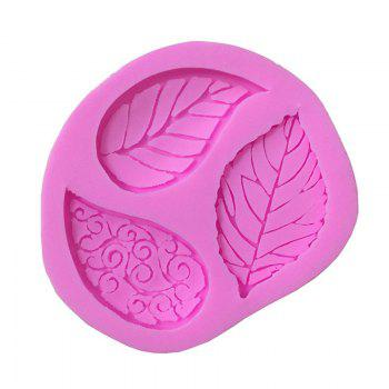 Aya Floral Leaves Cake Molds for Baking - ROSE PÂLE
