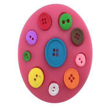 Aya Button Cake Molds for Baking - PINK PINK
