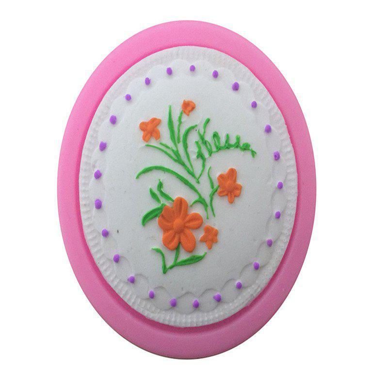 Aya Flower of Grass Cake Molds - PINK