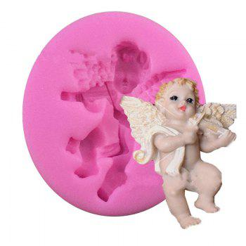 Aya Violin Angel Cake Molds for Baking - PINK PINK