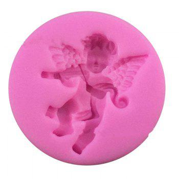 Aya Violin Angel Cake Molds for Baking -  PINK