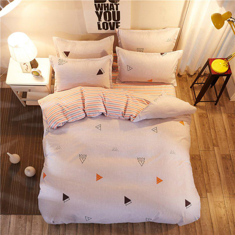 Dyy 3pcs fashion design literie set housse de couette for Literie couette