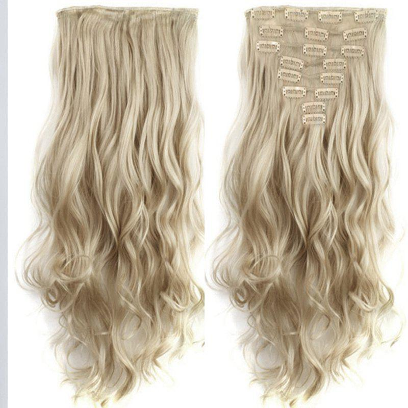 TODO 24inch Wig Curly Single Style 8-piece 18-clip Hair Extensions от Dresslily.com INT