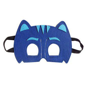 Masks Capes And Costume Sets for Kids, Dress Up Pretend Play Kids Costumes for Cosplay Party - BLUE