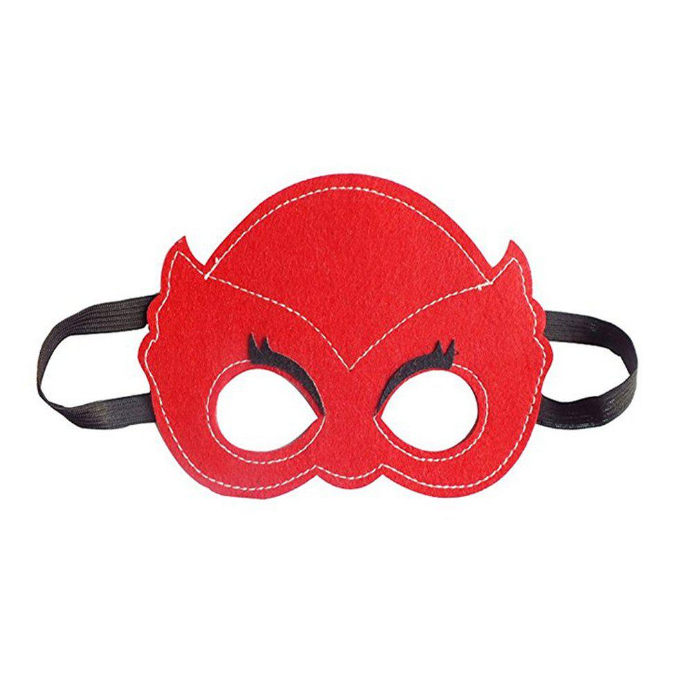 Masks Capes And Costume Sets for Kids, Dress Up Pretend Play Kids Costumes for Cosplay Party - RED