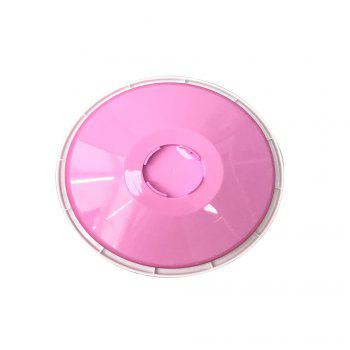 Turnable Cake Decorating Stand 11 Inch Round Food-Grade Plastic Detachable Base -  PINK/WHITE