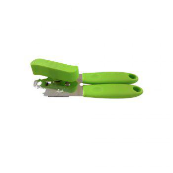 Manual Chrome Can Bottle Opener Multicolor -  GREEN