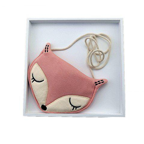 Children of Single Shoulder Bag Cloth Maomao Fox Packets - PINK