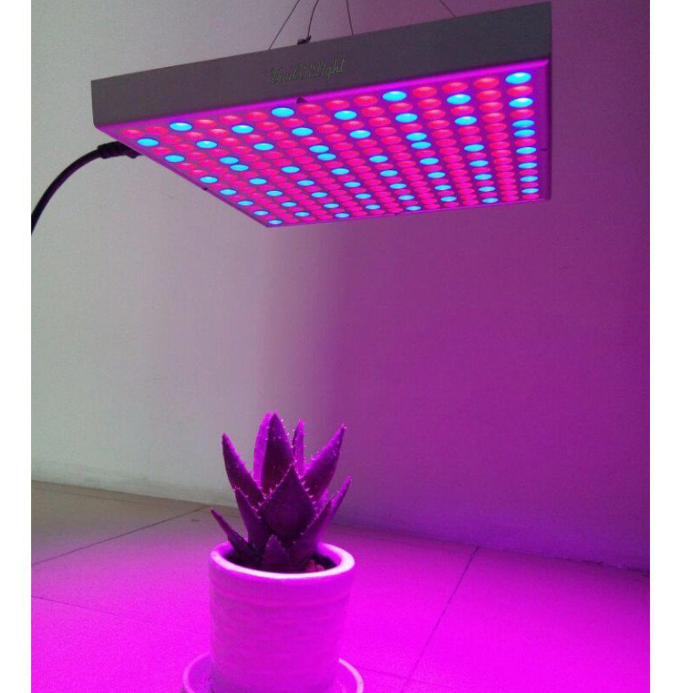 Youoklight 1PCS 14W Ac85 ~ 265V 225 - 3528 Led Square Plant Grow Light - WHITE US