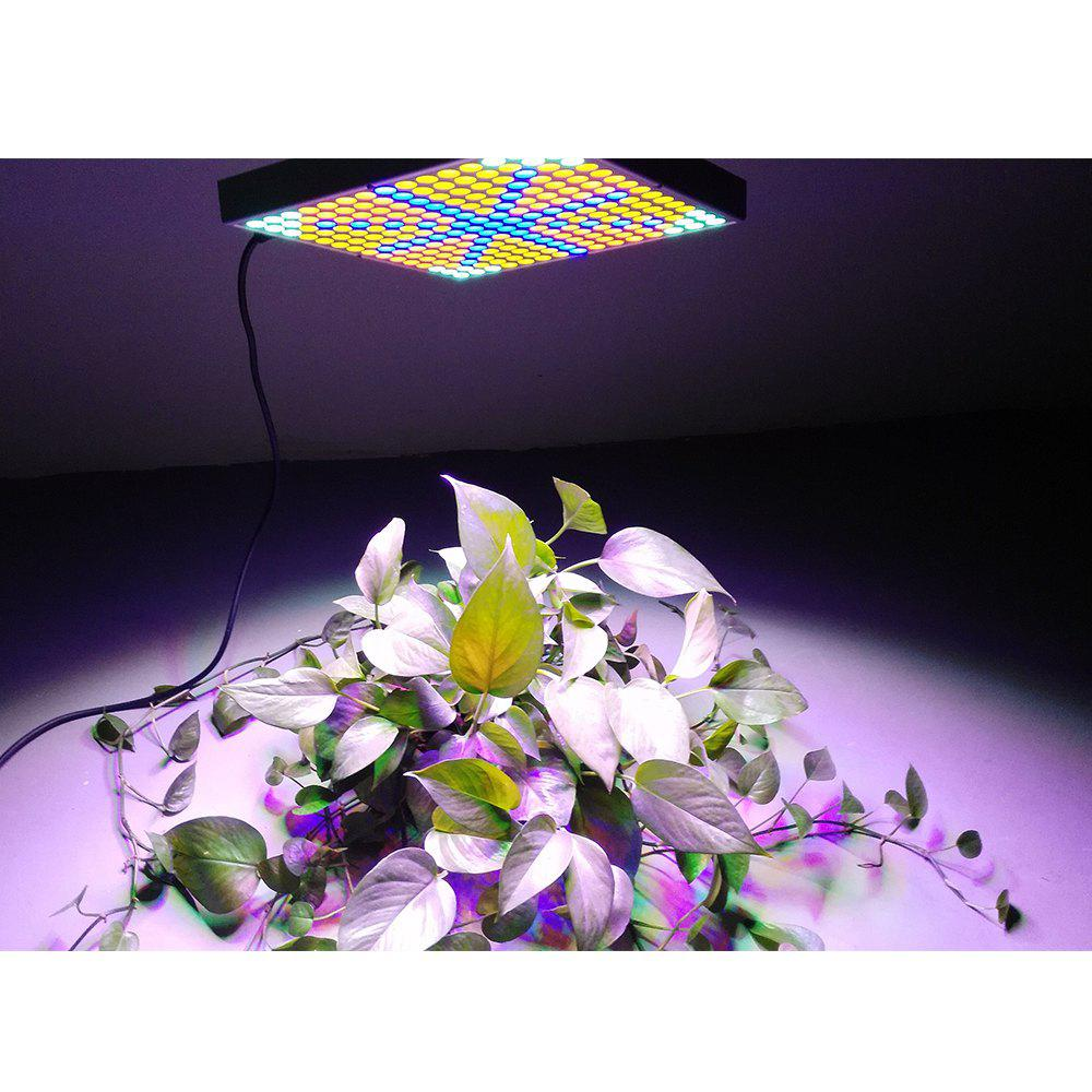 Youoklight 1PCS 45W Ac85 ~ 265V 225 - 2835 Led Square Plant Grow Light - SILVER US