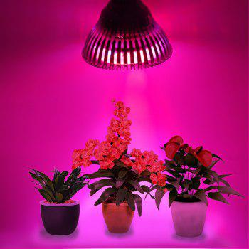 Youoklight 1PCS E27 12W Ac100 - 265V 10RED et 2BLUE Light Led Spot Bulb Plant Grow Light - Blanc / Argent E27