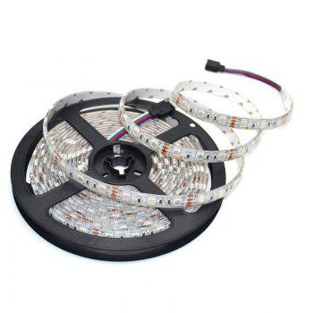 Jiawen Waterproof Ip65 5050 Smd 60LEDS/M Rgb Led Strip Light with Wi-Fi Controller, Dc12v Us Power Adapter - WHITE