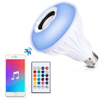 Supli Led 10W Rgb Smart Light Bulb Speaker Generation Ii with Updated Remote Control - New Function of Light Flashing As Music Goes -  RGB